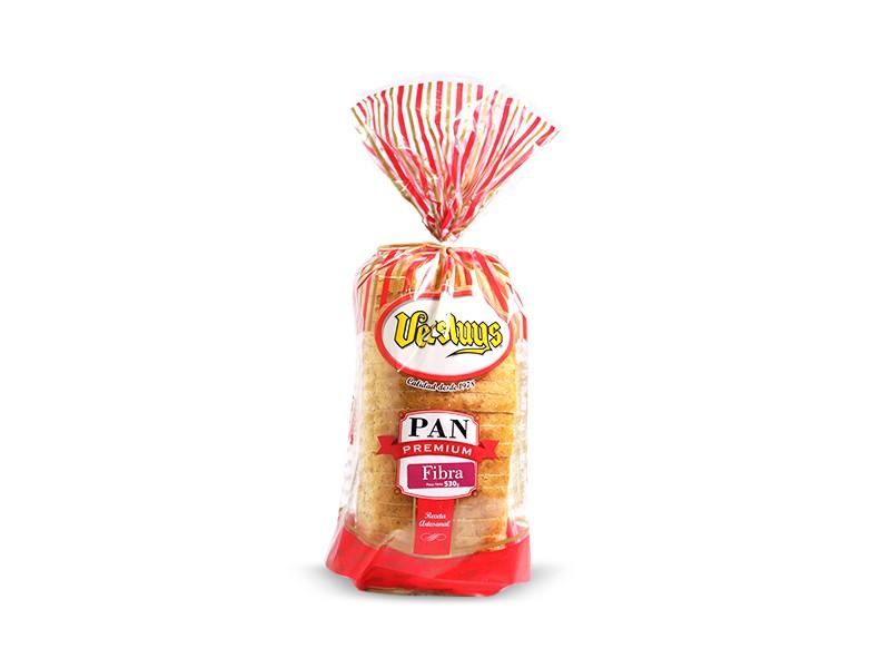 Pan molde integral fibra 530 g