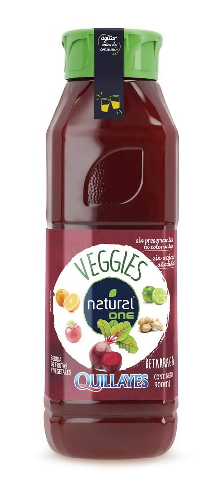 Jugo Natural One veggies betarraga