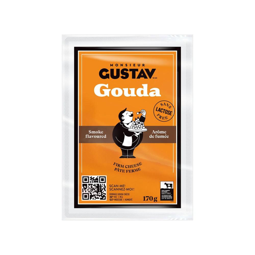 Smoked gouda cheese