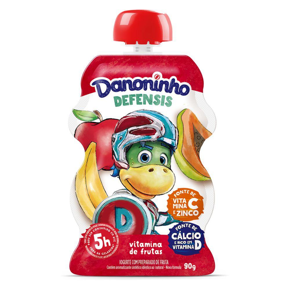 Iogurte com preparado de frutas Defensis