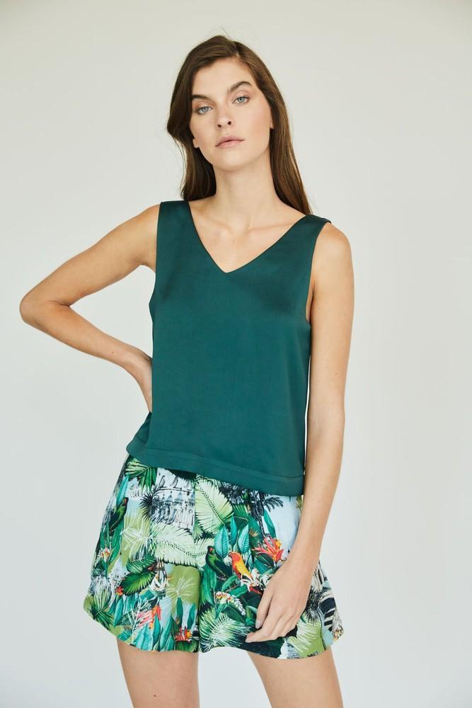 Top gardenia verde