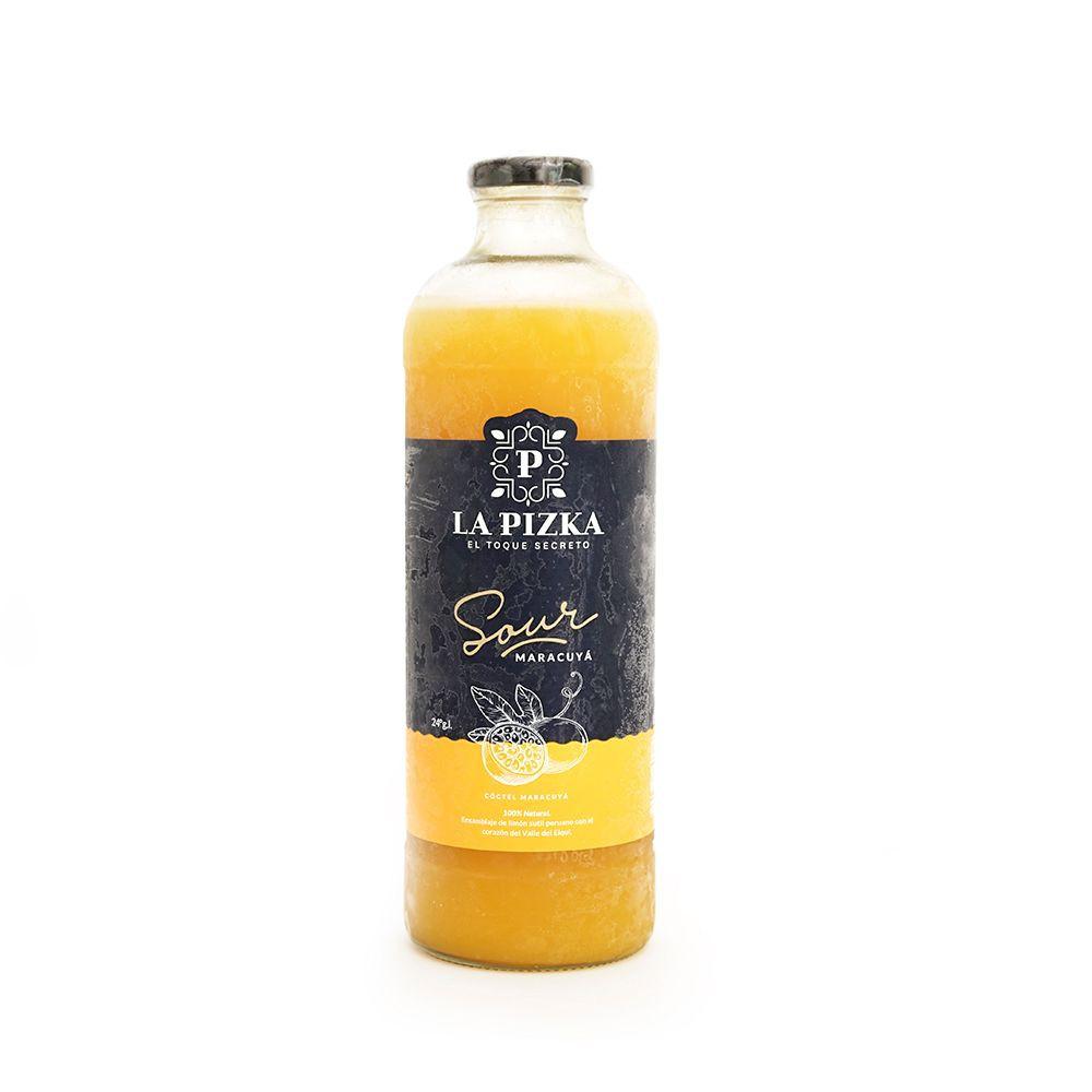 Maracuya, pisco premium 1 litro