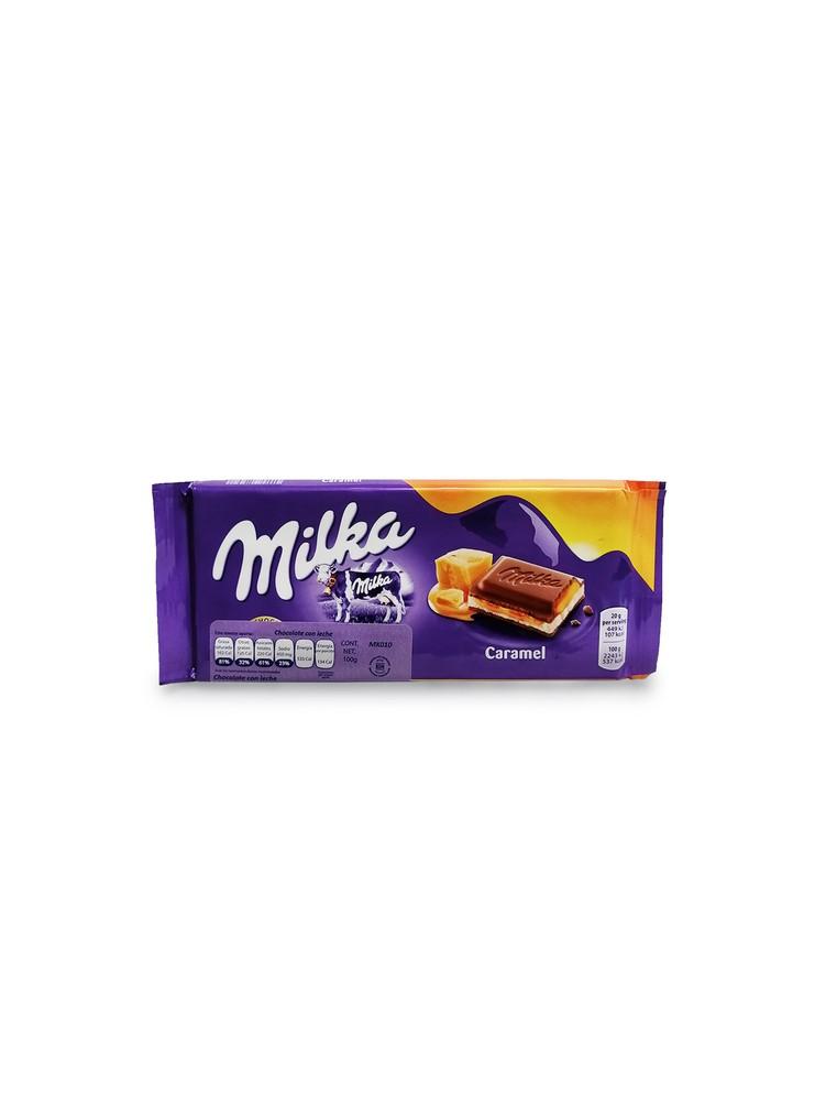 Chocolate relleno de caramelo