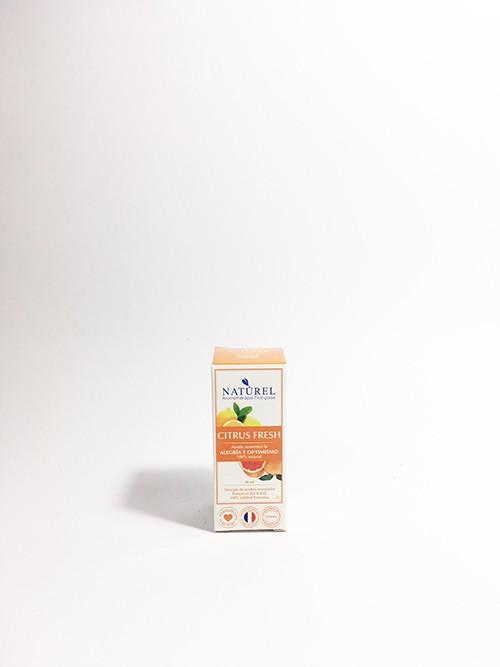 Sinergia Citrus fresh Frasco vidrio con gotario 10 ml.