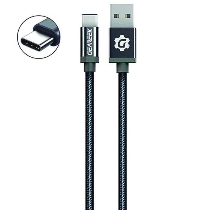 Cable premium tipo c 80cm negro