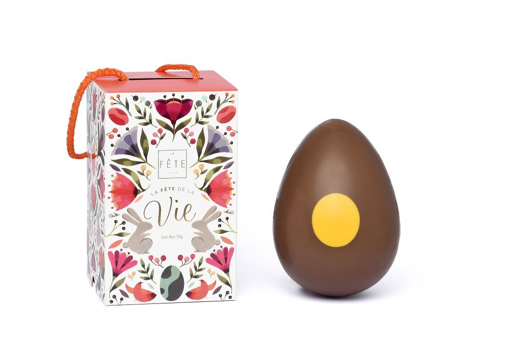 Huevo de chocolate leche 150g
