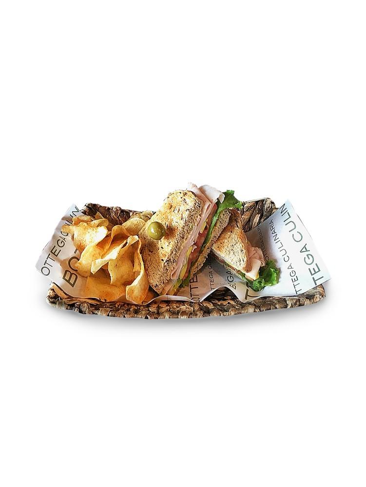 Sandwich de pavo ahumado
