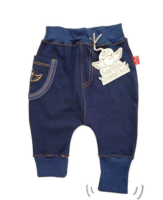Bombacho jeans unisex 6-12 meses