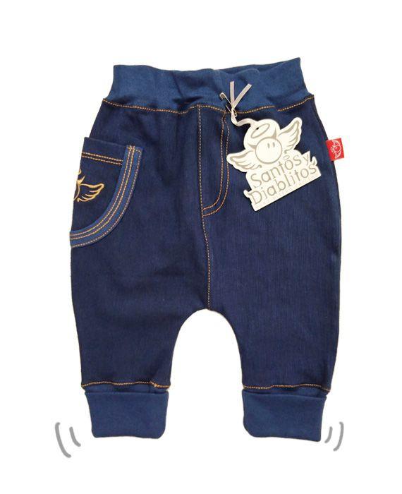 Bombacho jeans unisex 12-18 meses