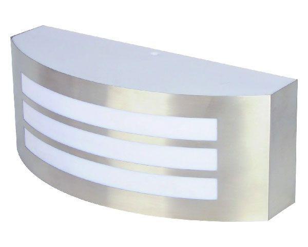 Aplique wind straps inox pc ip44 e27 sin ampolleta