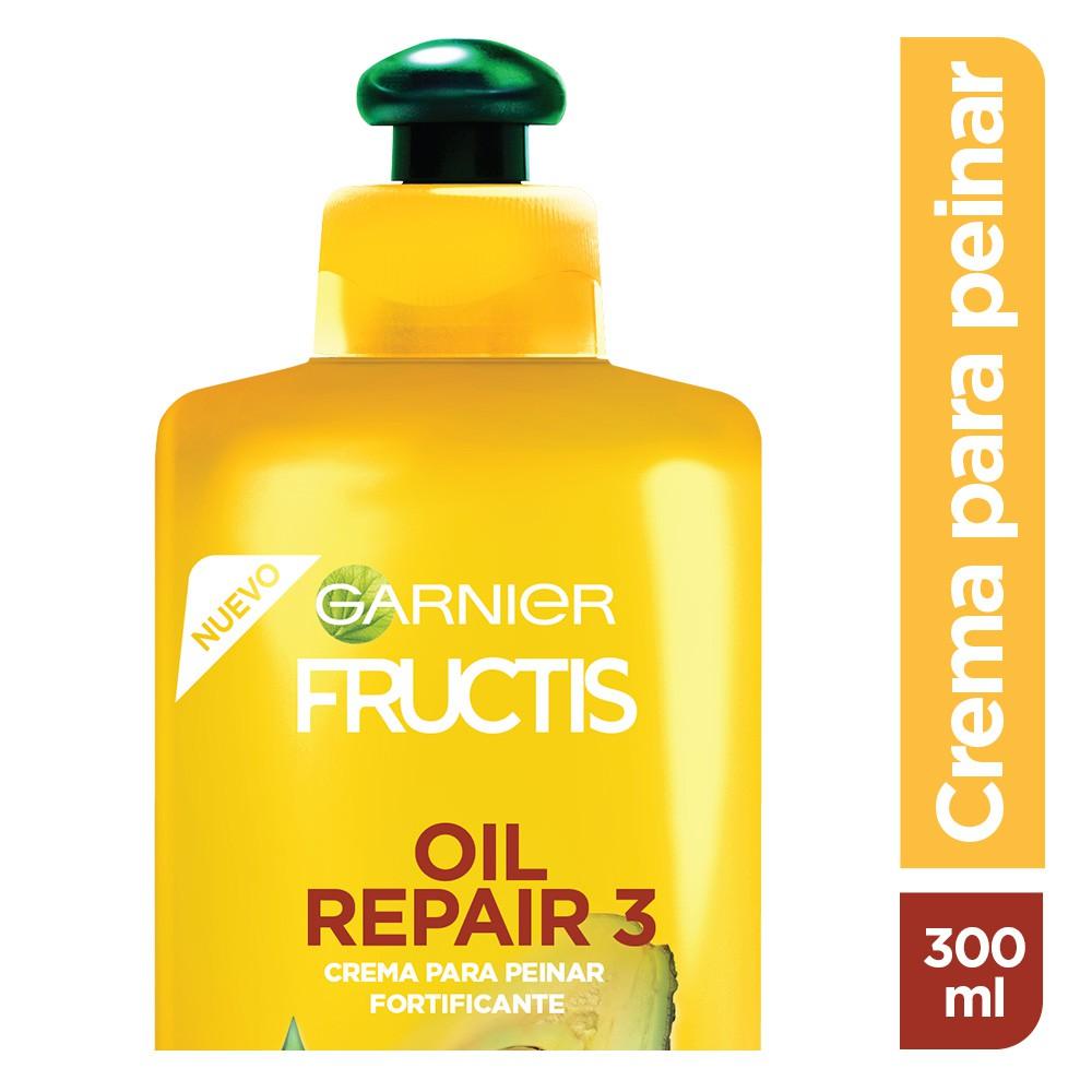 Crema para peinar oil repair 3 para cabello seco