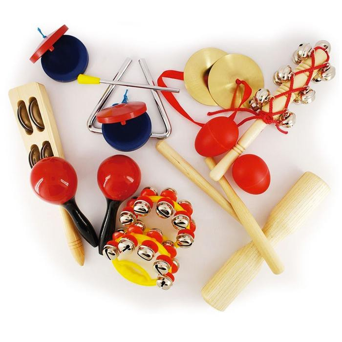 Set instrumentos de percusión