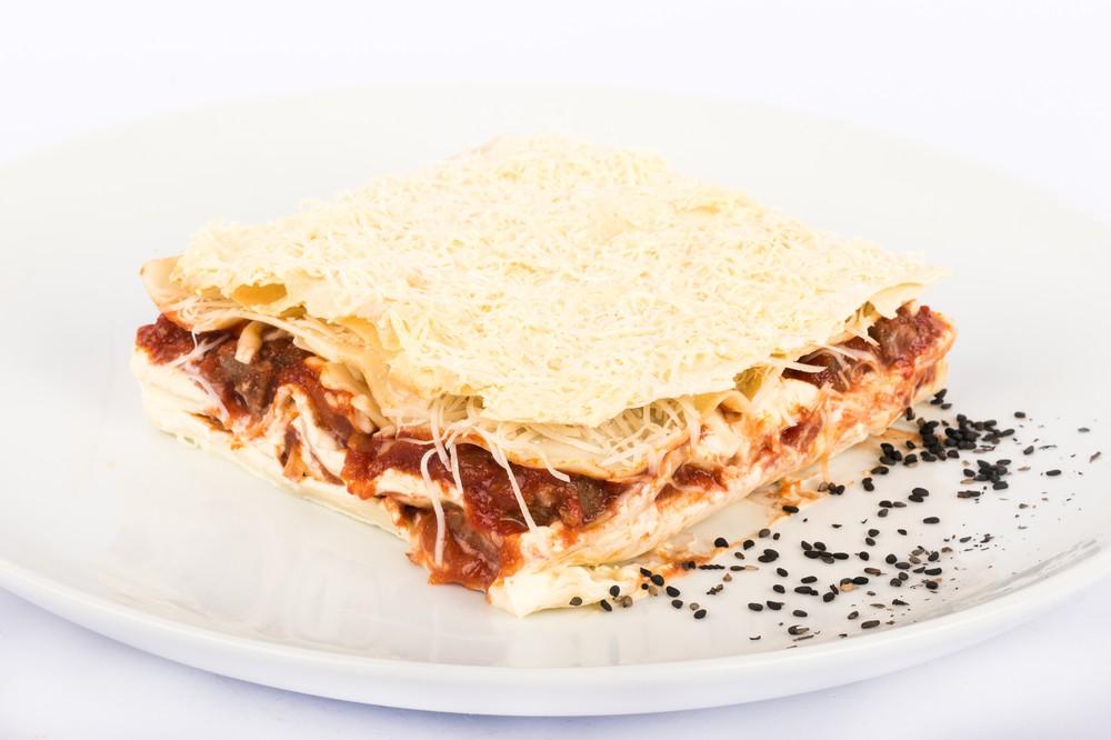 Lasagna carne braseada