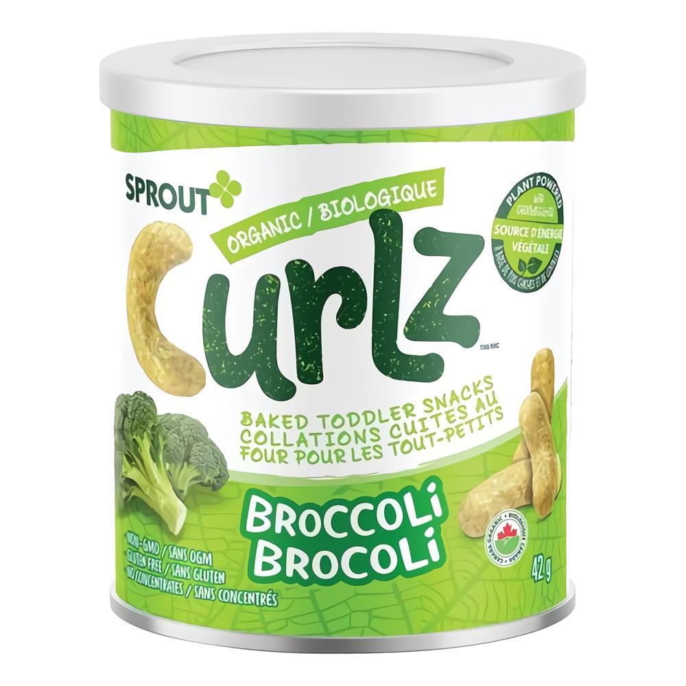 Curlz organic broccoli baked snacks