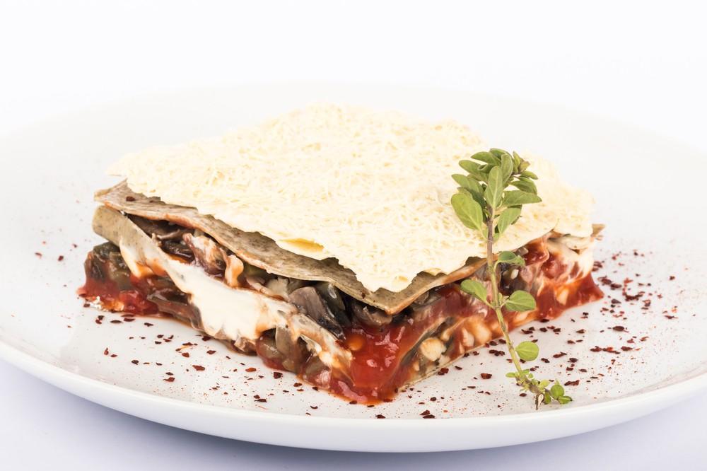 Lasagna de verduras SIN masa