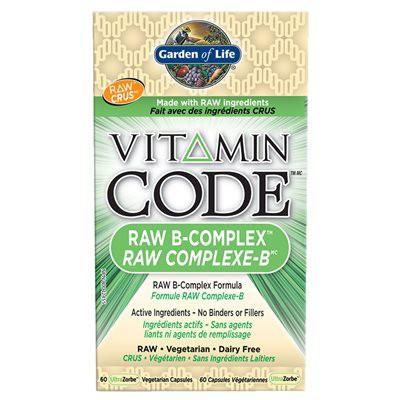 Raw b-complex vegetarian capsules