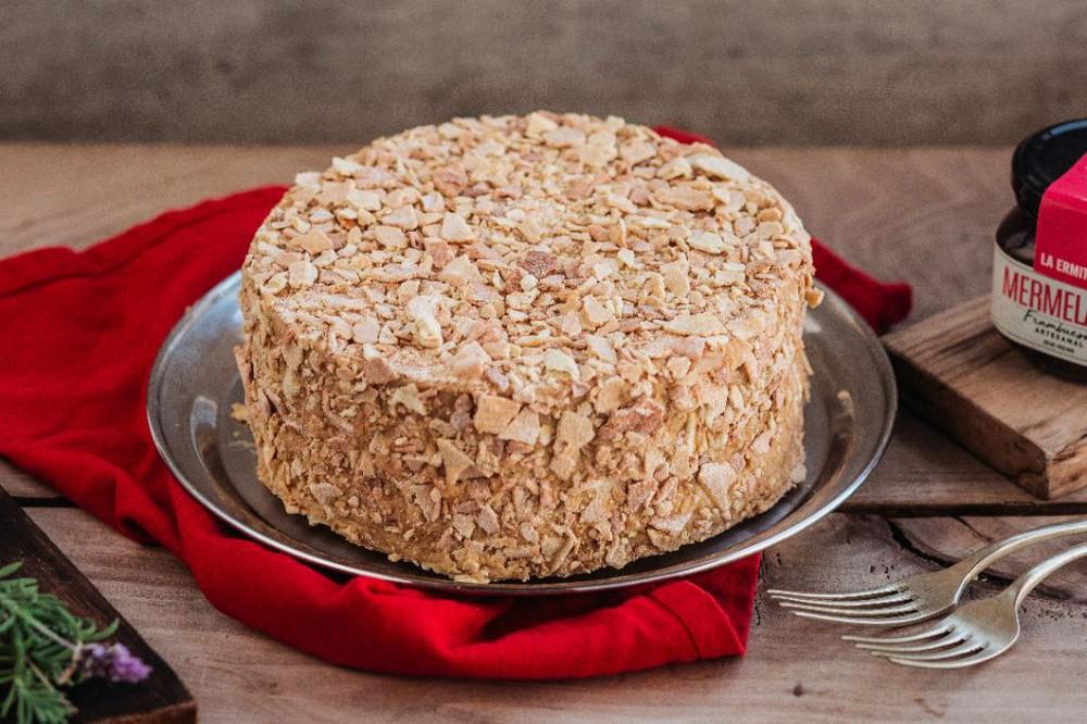 Torta Hojarasca Manjar 15 personas