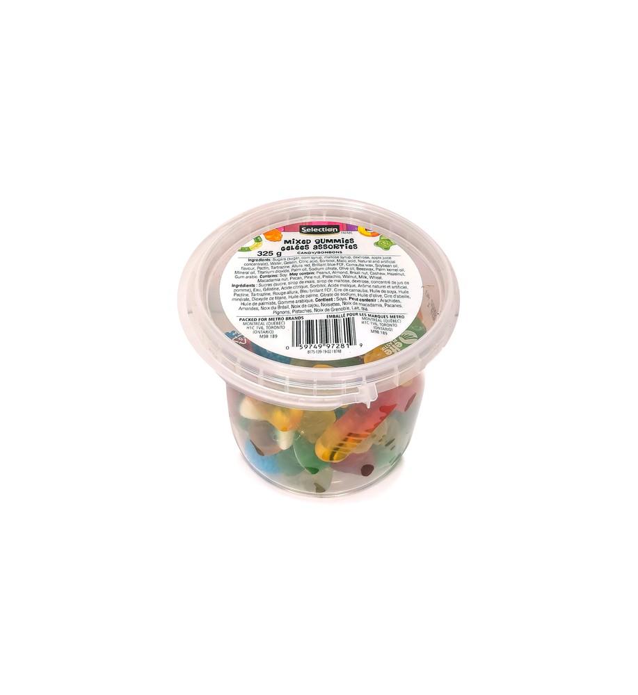 Mixed gummies