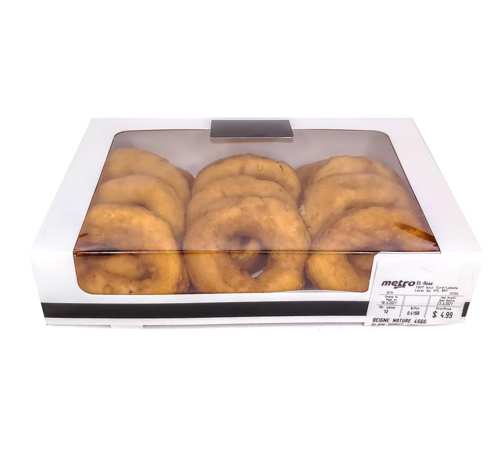 Plain donuts
