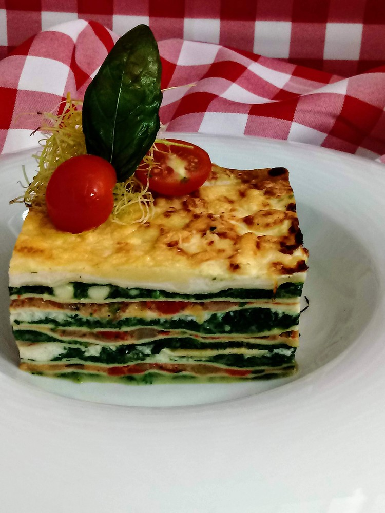 Lasagna Verduras 2 Kg