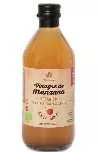 Vinagre de manzana organico Botella 500 ml