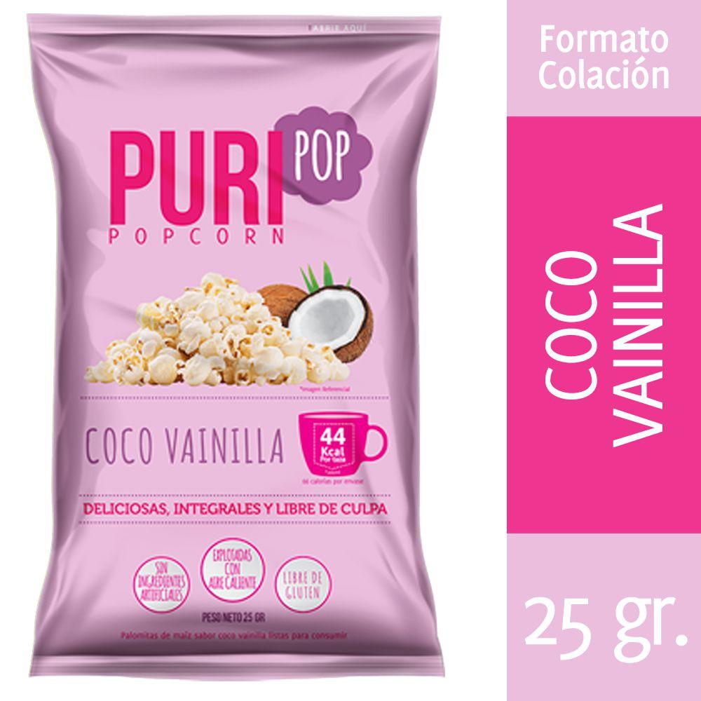 Cabritas dulces sabor coco vainilla Bolsa 25 g