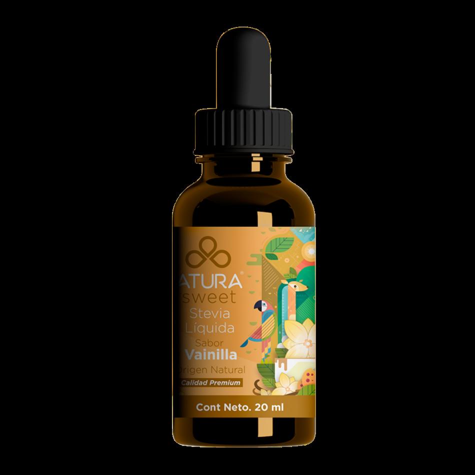 Stevia liquida sabor vainilla