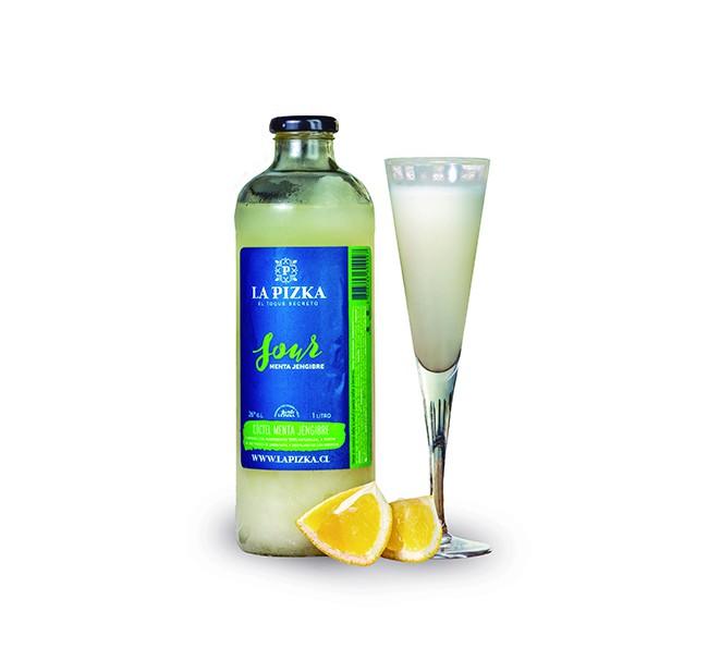 La Pizka Menta Jengibre 1 litro