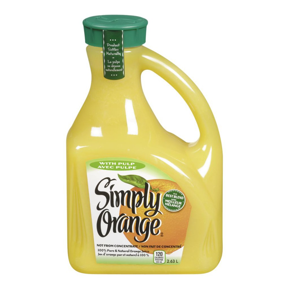 Simply Orange, with Pulp