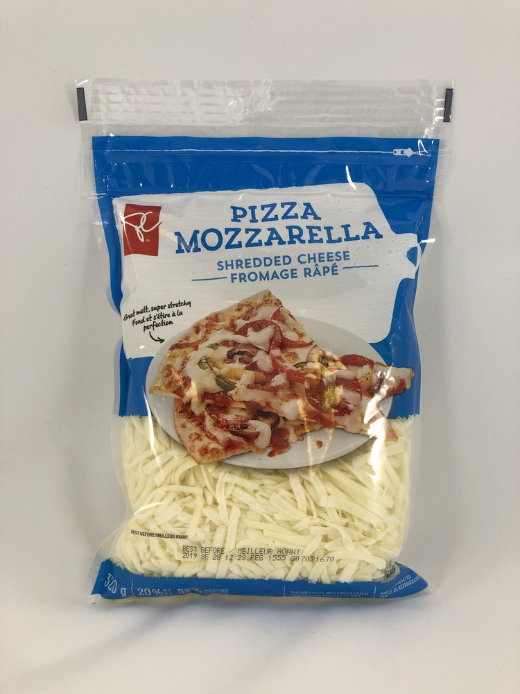 Pizza Mozzarella Shredded Cheese