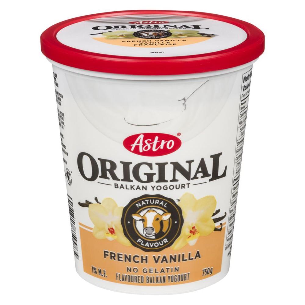 Original Balkan Style Yogurt, French Vanilla
