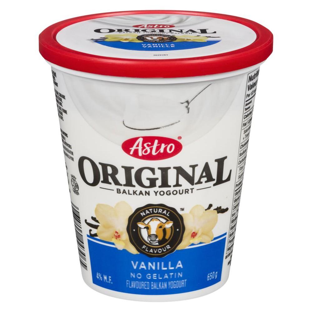 Original Balkan Style Yogurt, Vanilla