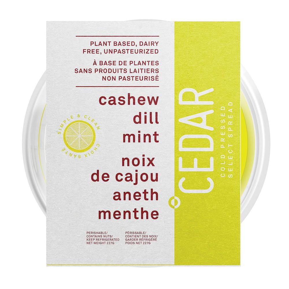 Cashew Dill Mint Spread