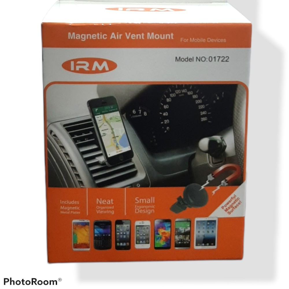 Soporte magnético de teléfonos para auto