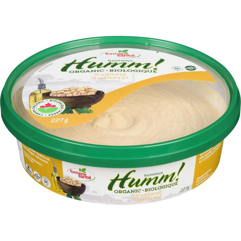 Organic Hummus, Traditional