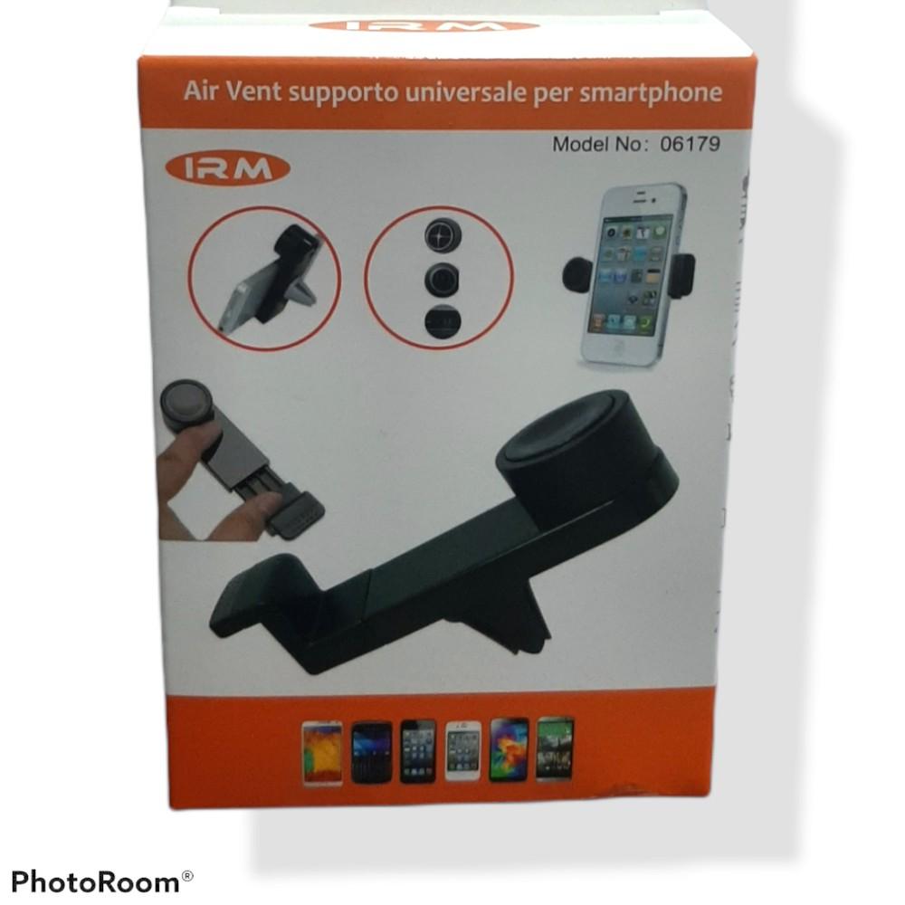 Soporte celular auto rejilla de ventilación ajustable