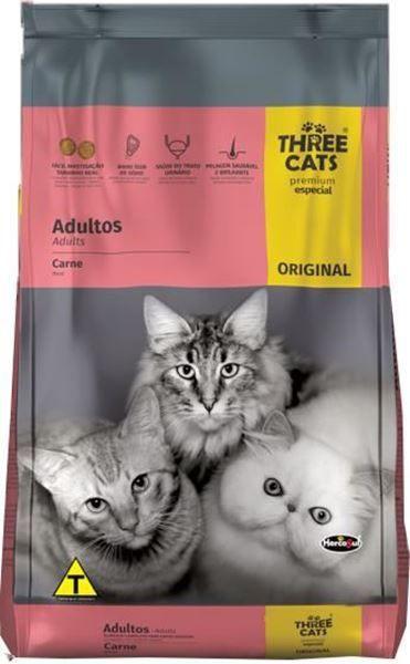 Three cats original gatos adulto