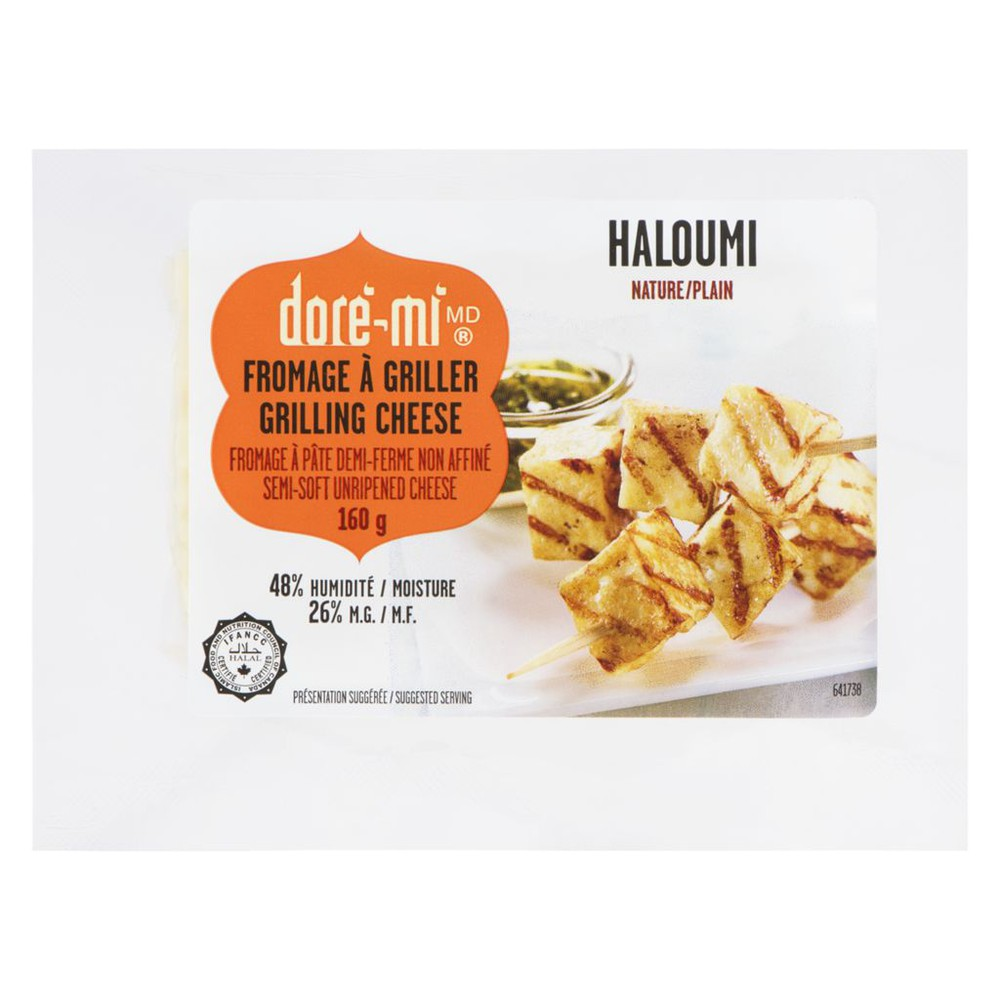 Grilling Cheese Haloumi Plain 26% M.F.