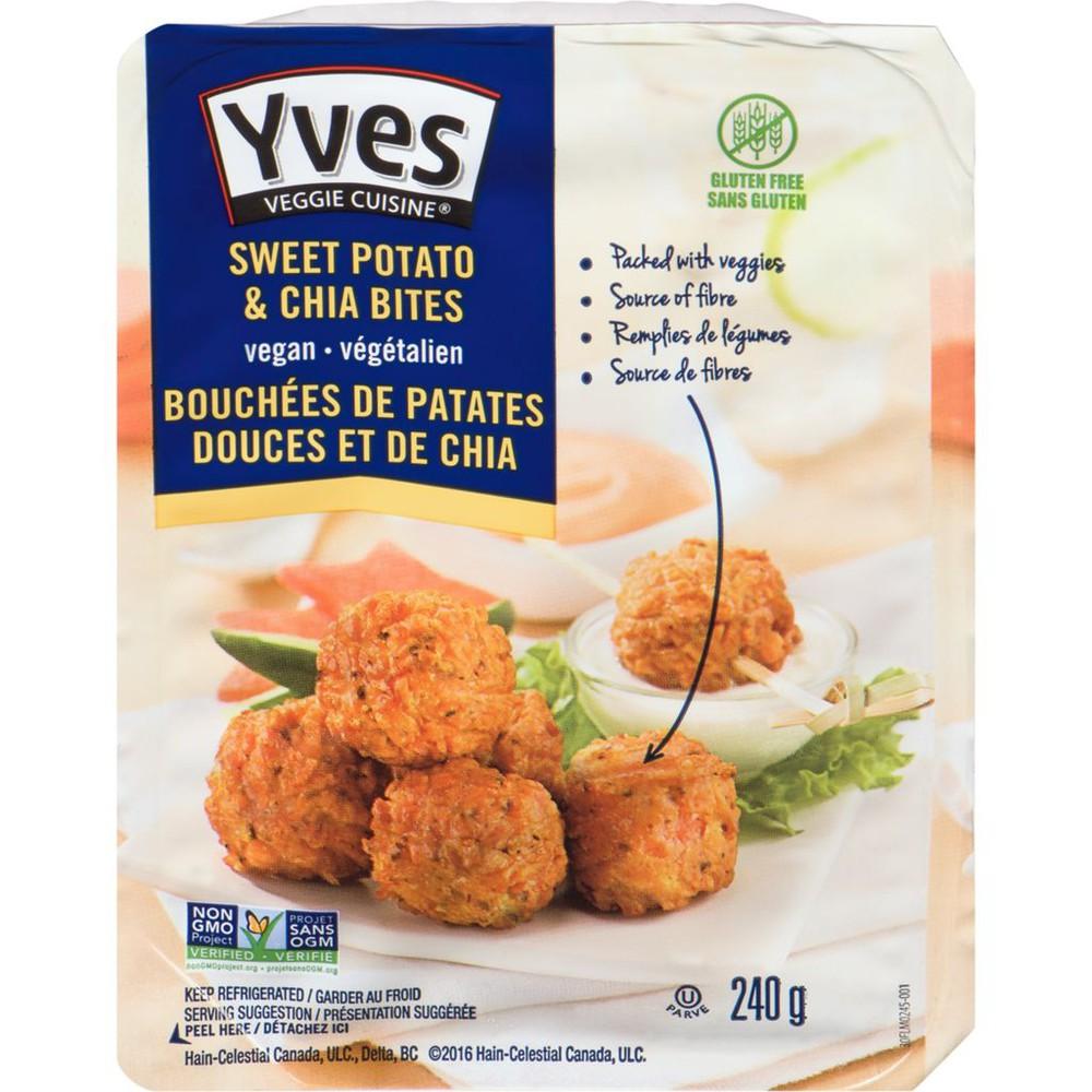 Sweet Potato & Chia Bites