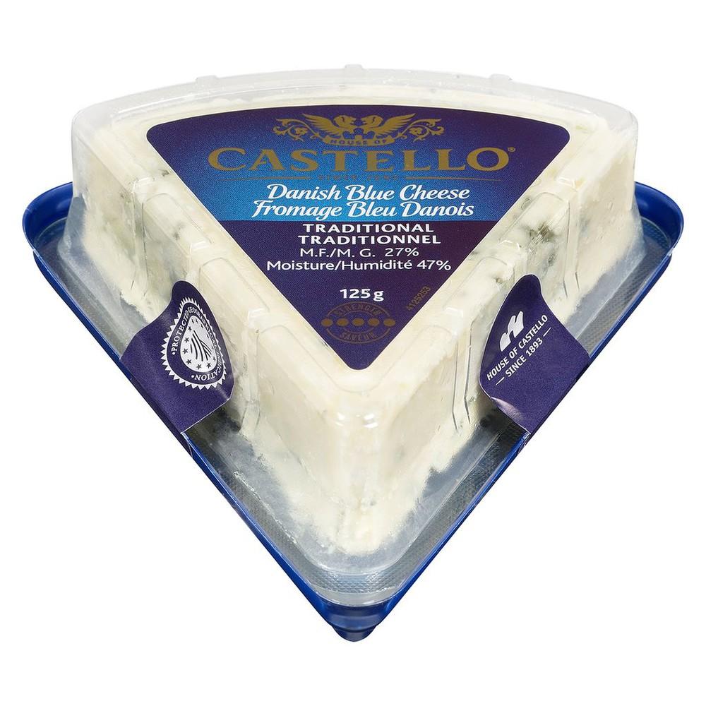 Traditional danish blue cheese