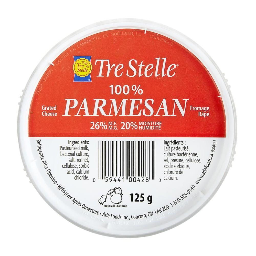 Parmesan, Grated