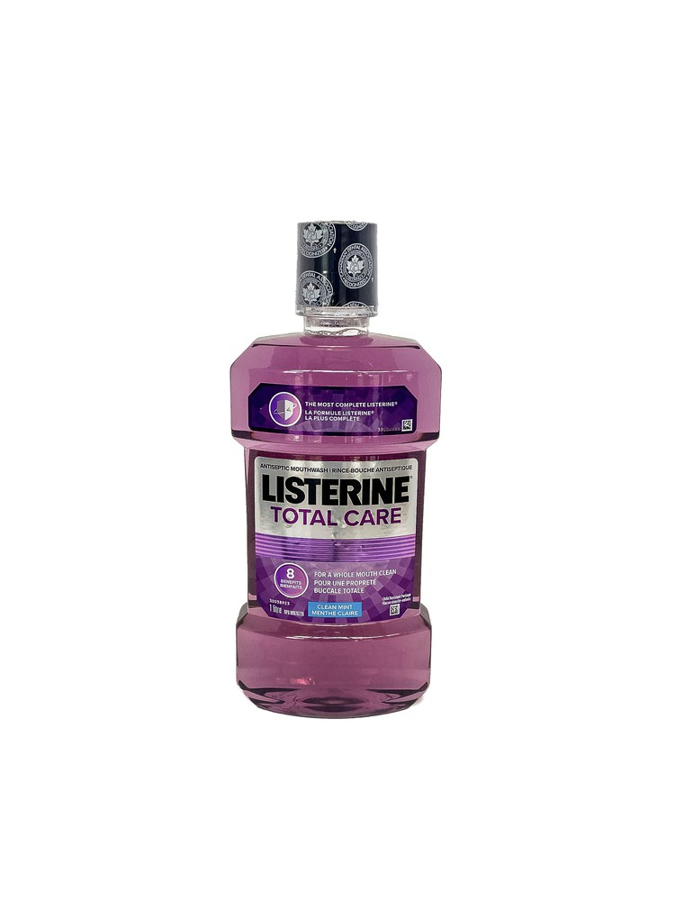 Total Care antiseptic mouthwash clean mint