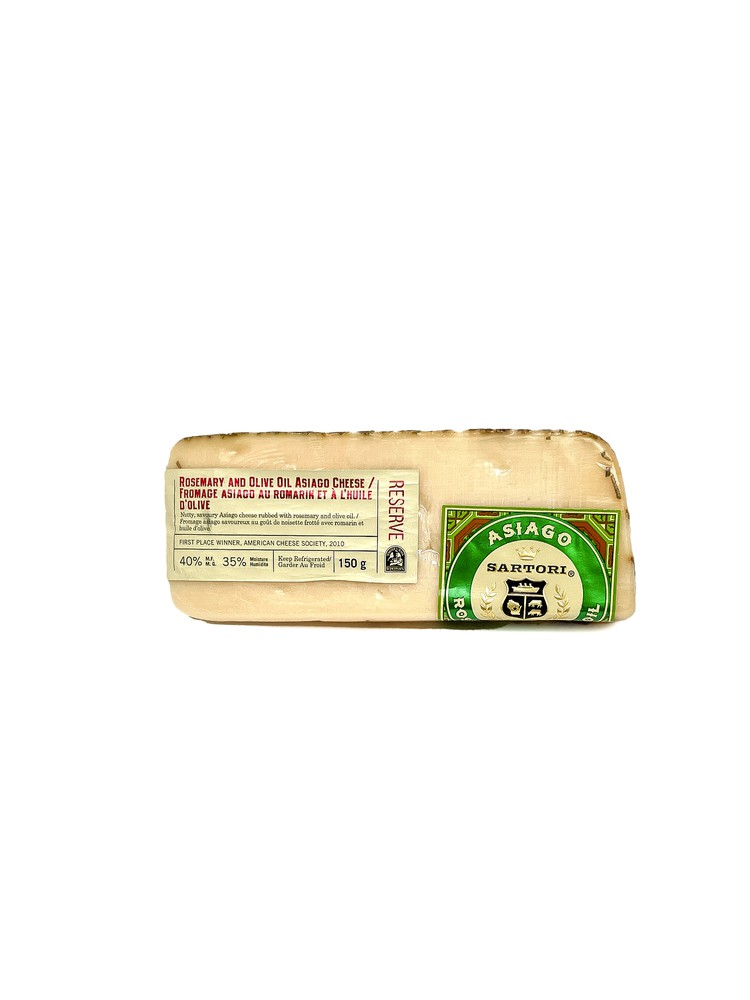 Rosemary and olive oil asiago cheese