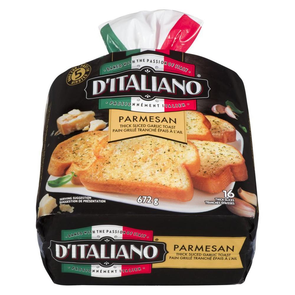 Bake At Home Thick Sliced Garlic Parmesan Bread