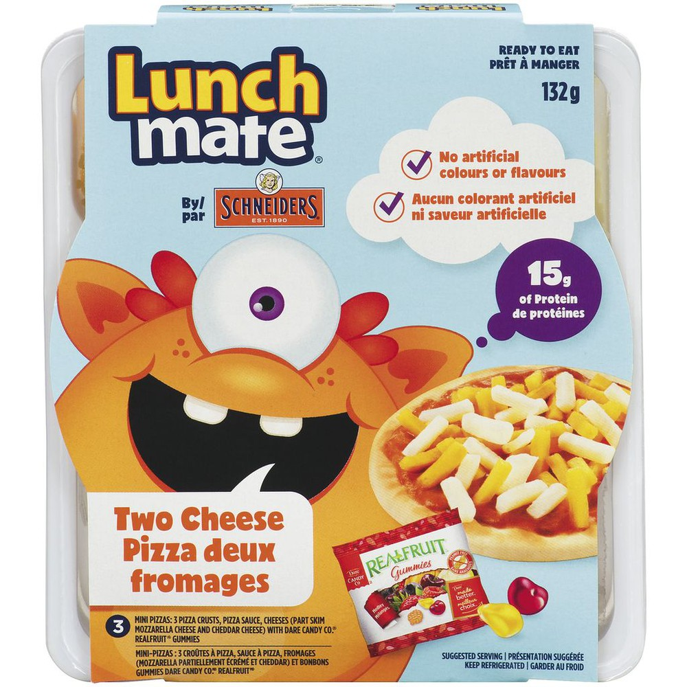 Lunchmate 2 Cheese Pizza