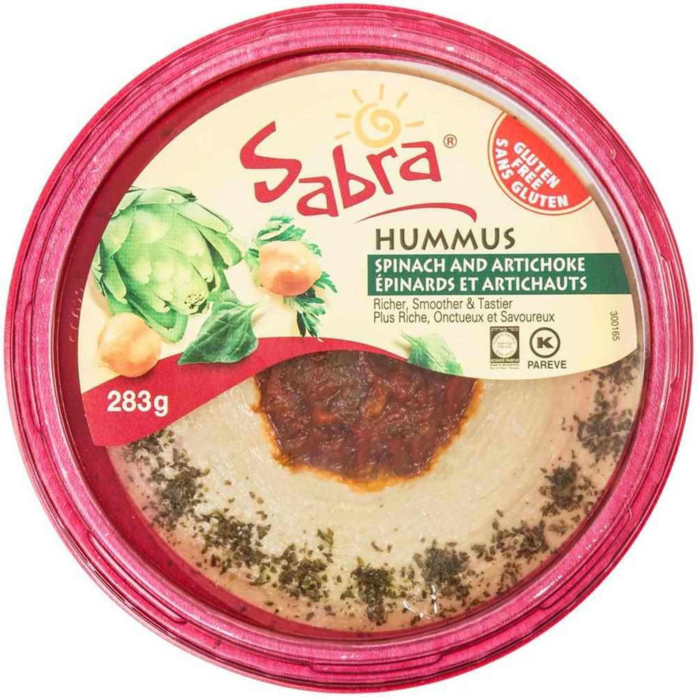 Hummus, Spinach & Artichoke
