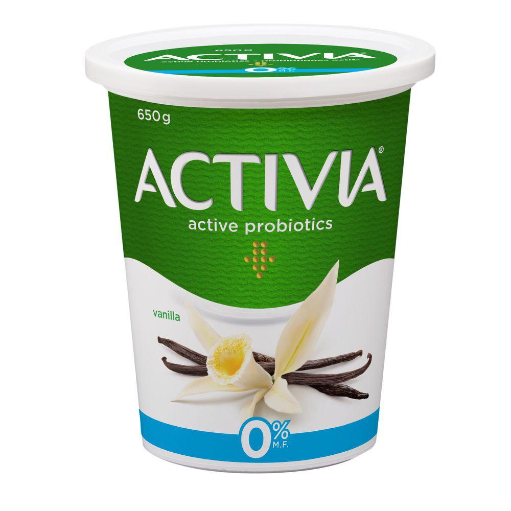 Yogurt with probiotics vanilla 0%