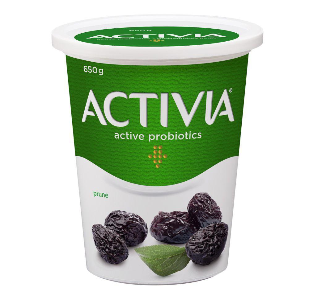 Prune probiotic yogurt