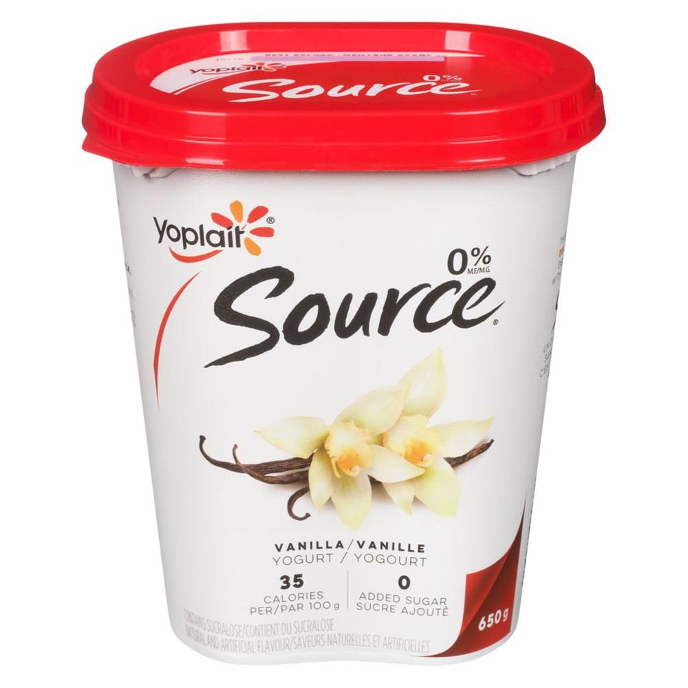 Yogurt, Vanilla