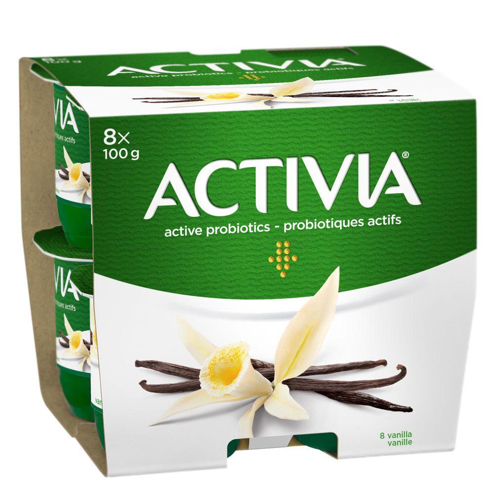 Probiotic yogurt vanilla